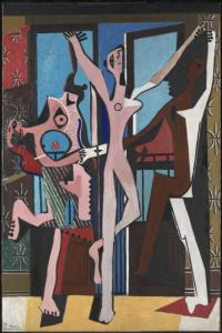 The Three Dancers 1925 by Pablo Picasso 1881-1973